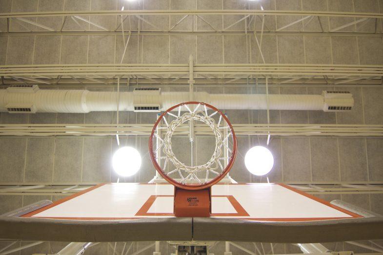 basketball hoop, gym