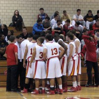 Bergen Catholic basketball team