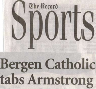 Billy Armstrong Named Bergen Catholic Varsity Coach