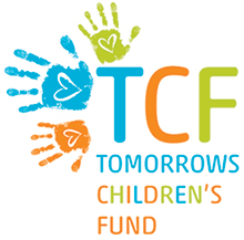 Remembering TJ, Tomorrow's Children's Fund logo