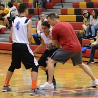 Billy coaching at Hoop Dreamz Clinics