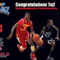 Taj Benning Commits to Fairfield University